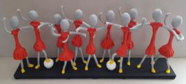 OranjeLeeuwinnen op rokjesdag