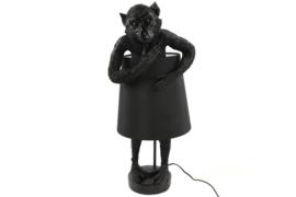 tafellamp aap incl zwarte lampenkap