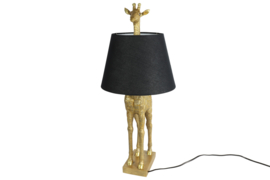 tafellamp giraffe incl zwart kap