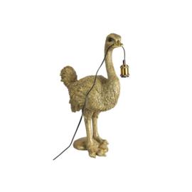 Tafellamp struisvogel E27 Orwell gold