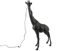 vloerlamp giraffe zwart