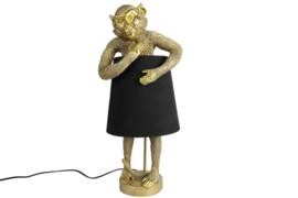 lamp aap incl zwarte kap
