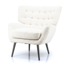 Fauteuil Peter wit