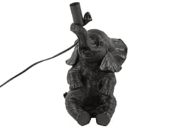 tafellamp olifant zwart