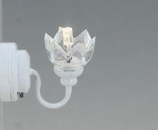CR-2286 LED Wandlamp met heldere kap