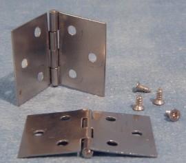 SAD-DIY451 Middelgroot scharnier (4x 25mm) met schroeven