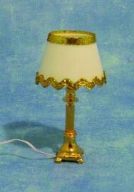 SAD-DE148 Tafellamp gouden rand
