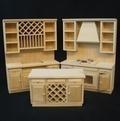 VM-22028 Keuken blank hout