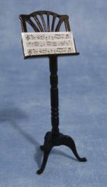 SAD-9/566 Zwarte muziekstandaard