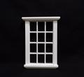 VM-23655W Traditioneel raam 12-vaks wit