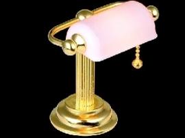 WH-EL155 Bureaulamp roze kap