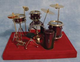 SAD-9/571 Deluxe drumstel rood
