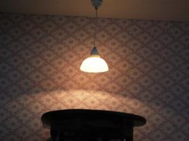 WH-EL337 Witte hedendaagse hanglamp