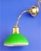 SAD-DE098 Plafondlamp met groene kap