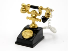 WH-OA63G Zwart met goud telefoon
