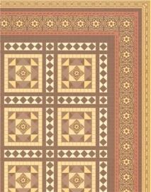 WH-PP95 Victoriaanse Vloer Tegels
