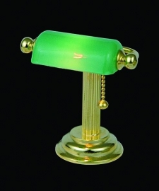 SAD-DE131 Tafellamp met Groene Kap
