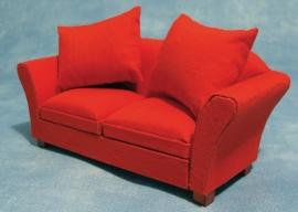 SAD-DF1156 Moderne rode sofa