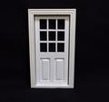 VM-23654W Buitendeur met vakwerkraam wit