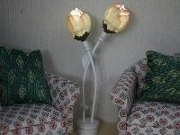 WH-BLED298 Chique rozeknop staande lamp