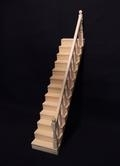 VM-23629 Trap, 13 treden (voorgemonteerd) - blank hout