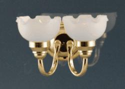 CR-2216 LED Dubbele wandlamp