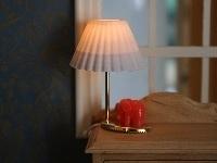 WH-EL318 Rode tafellamp Olifant