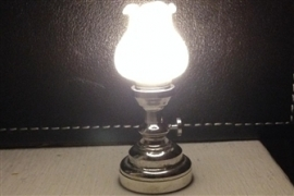 WH-SBLED339 LED Tulp tafel olielamp - chrome