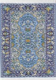 SAD-DIY317H Turks tapijt blauw 31 x 20cm