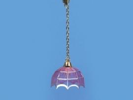 WH-EL84 Hanglamp Tiffany / zilver