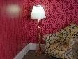 WH-SBLED269 Staande lamp, goud met witte kap