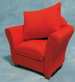 SAD-DF1157 Moderne rode fauteuil