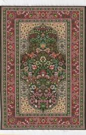 SAD-D699C turks tapijt groen 15 x 23cm