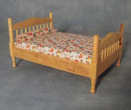 SAD-DF1487 Grenen 2-persoons bed