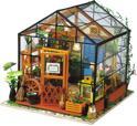 DG104 Cathy's Flower House - met LED licht - DIY