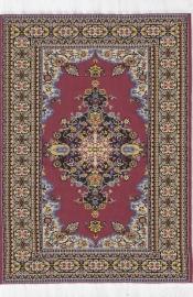 SAD-D699B Turks tapijt rood 15 x 23cm