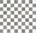 VM-26572 Gemarmerde zwart/wit vloertegel