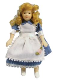 DP161 Meisje in Alice jurk