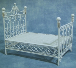 SAD-DF500 Tweepersoons bed (wit draad)