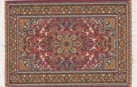 SAD-D698E Turks tapijt oranje 10 x 14cm