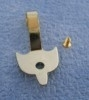 SAD-DIY129 uitschuifbare gordijnroede koper