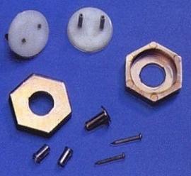 CK801-1 6-Kantige wandlampstekker