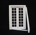 VM-23628 Dubbele balkon/serre deur wit