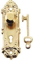 HW1139 Opryland deurplaat met knop