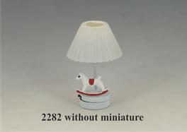 CR-2282 LED Tafellamp met witte kap