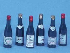 WH-KA177 Set van 6 Wijnflessen