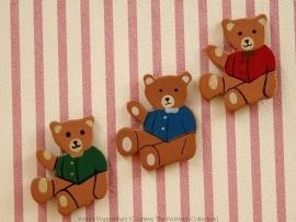 WH-TA202 Set van 3 beren - wanddecoratie