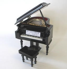 SAD-9/570 / VM-71114 Black baby Grand Piano