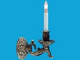 WH-EL163 Tudor Kaarslamp