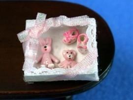 WH-TA157 Roze baby kadoset